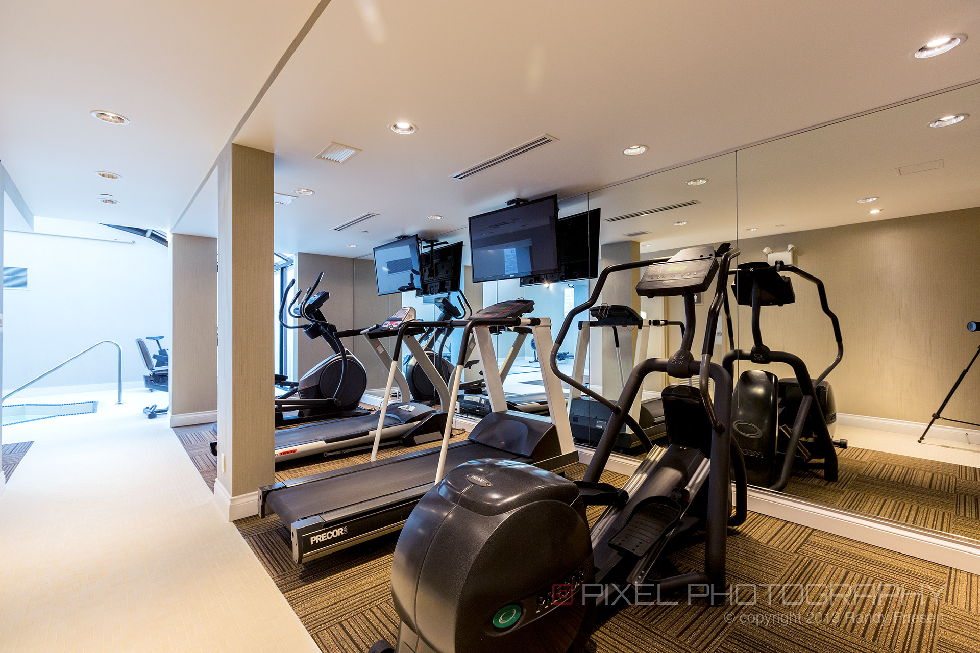 Granville island hotel health club photography panthermedia