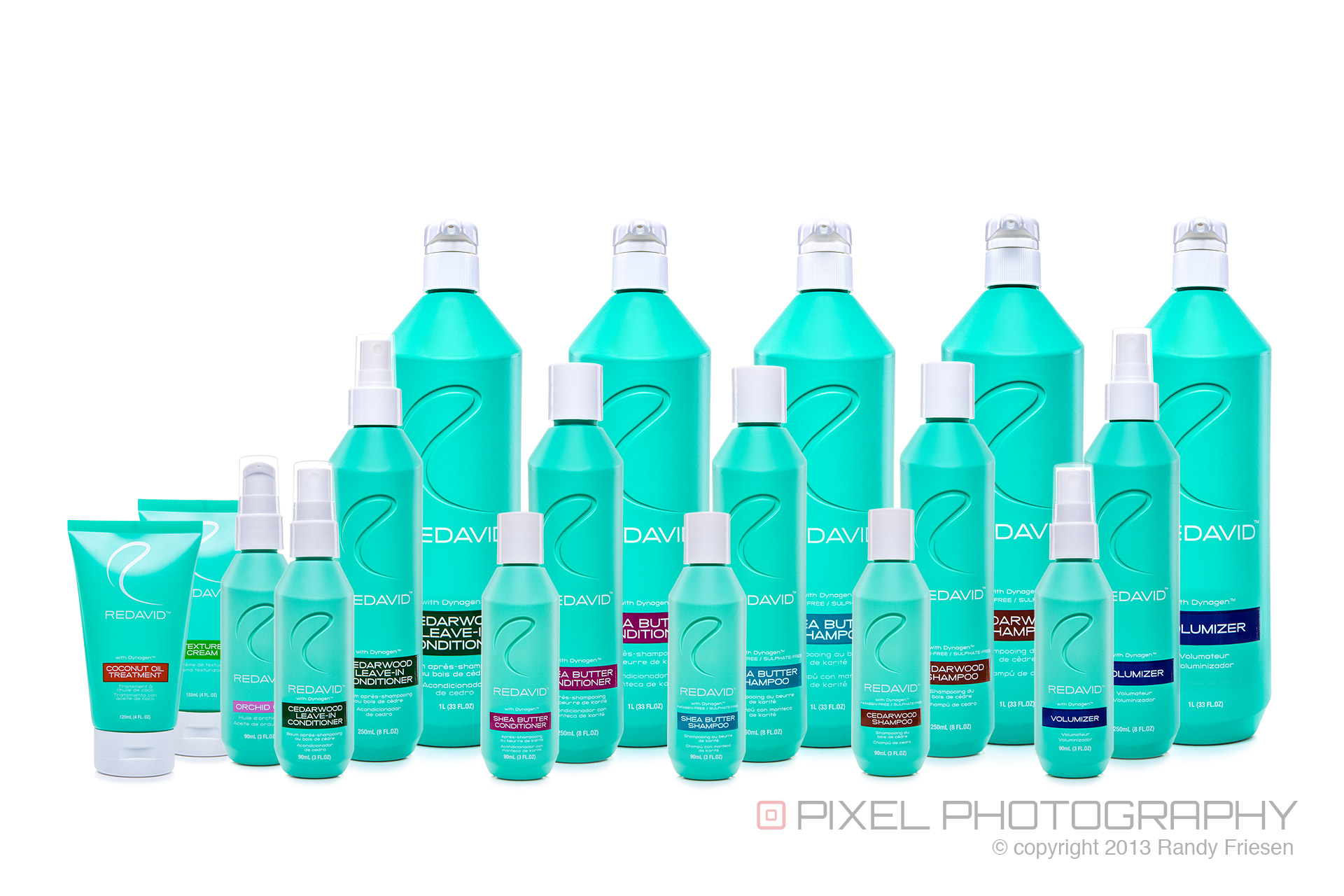 Product photography for vancouver 39 s redavid salon products for A p beauty salon vancouver wa