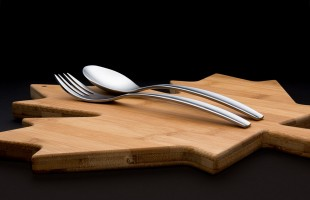 flatware product photography
